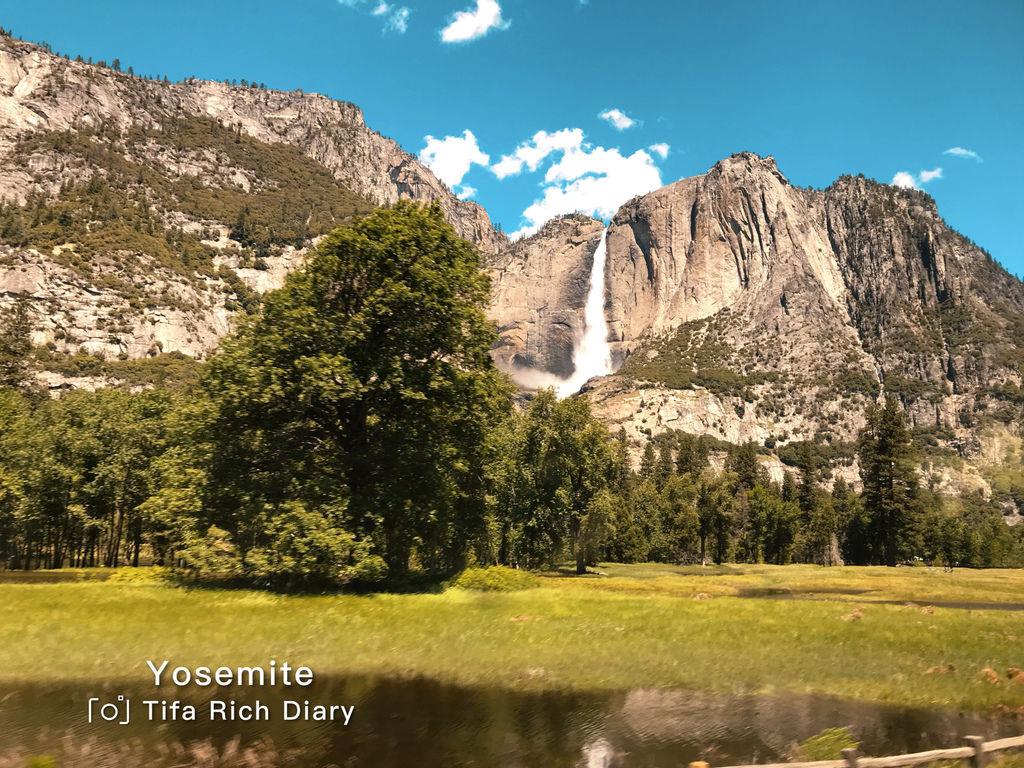 美西旅遊心得一定要來的優勝美地國家公園天氣很好看優勝美地瀑布.jpg